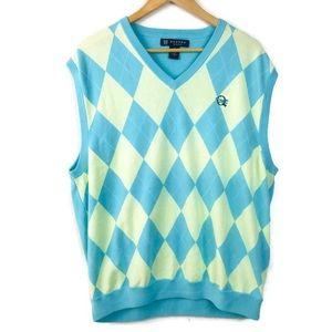 Oxford Golf Sweater Vest